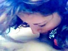 Mexican cutie Daniela adores her bf cock